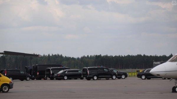 Впервые за границей: Лимузин Путина «Кортеж» замечен в Хельсинки