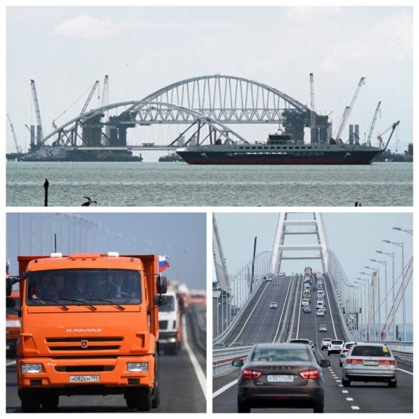 Крымский мост принял за июль почти 800 000 автомобилей