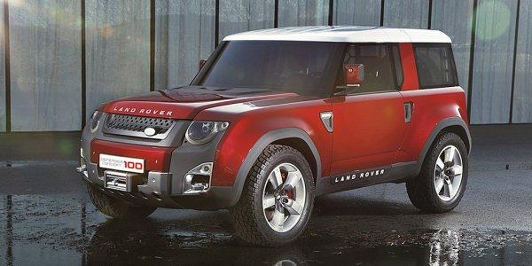 Новый Land Rover Defender выпустят к 2020 году
