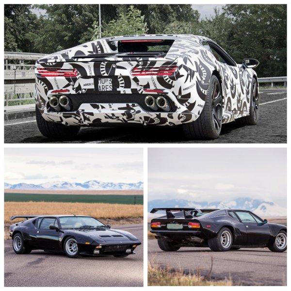 Ares тестирует возрожденный суперкар De Tomaso Pantera