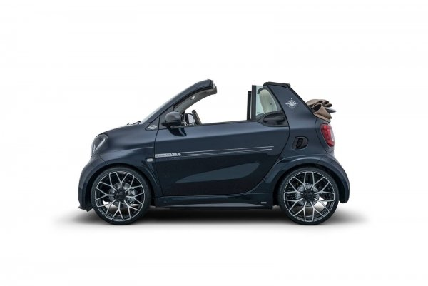 Brabus выпустит ограниченное издание кабриолета Smart ForTwo