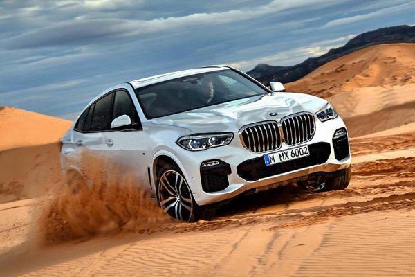 Показан тестовый прототип кроссовера BMW X6 третьего поколения