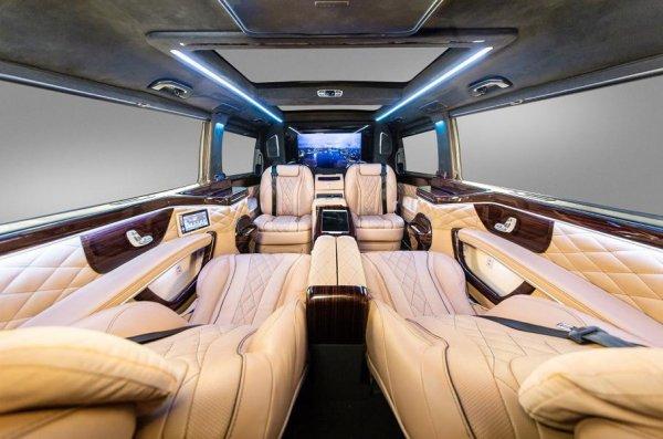 Минивэн Mercedes-Benz V-Class получил роскошное обновление