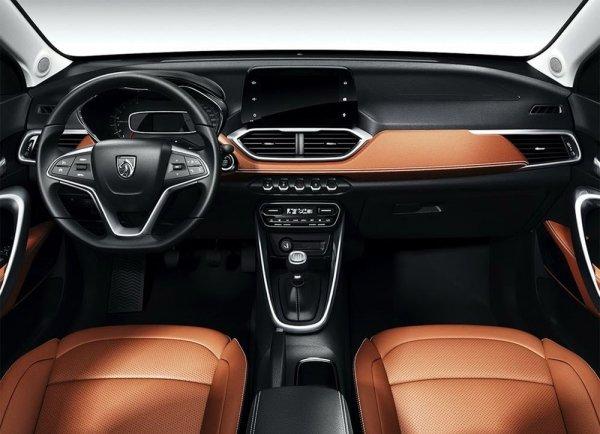 GM и SAIC представили эскизы нового кроссовера Baojun