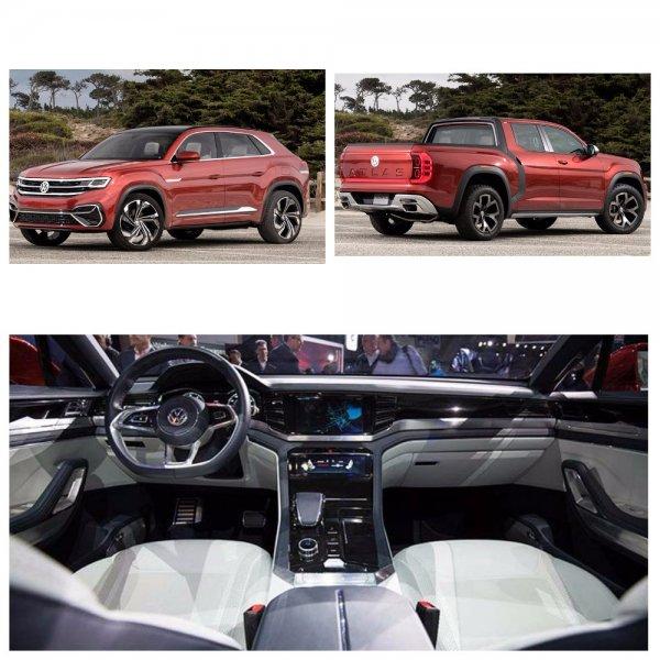 Компания Volkswagen представила новые кроссоверы Atlas Cross Sport и Atlas Tanoak
