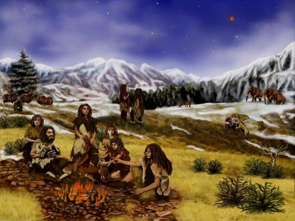 Ученые доказали, что основной причиной вымирания неандертальцев было похолодание