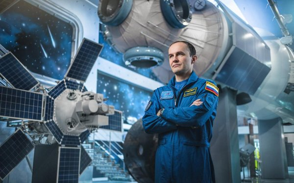 Московский Депобразования организовал встречу местных школьников с космонавтом