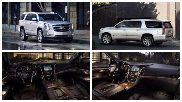 Новый Cadillac Escalade 2018 модельного года стал ещё роскошнее