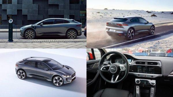 Новый кроссовер Jaguar I-Pace получит искусственный интеллект