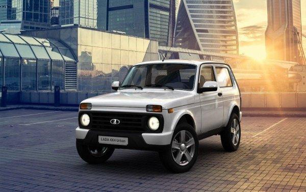 «АвтоВАЗ» поднял цены на внедорожник LADA 4x4