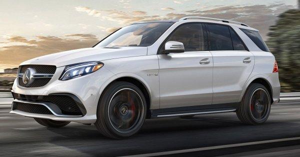 Опубликованы шпионские снимки нового Mercedes-Benz GLE