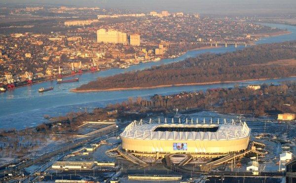 Возле «Ростов Арены» вскоре появится «летящий мост»