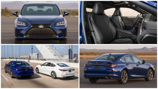 В России стартовали продажи нового седана Lexus ES
