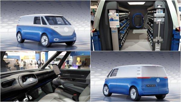 Volkswagen представил электрический фургон I.D. Buzz Cargo