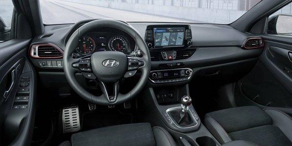 Hyundai показала 275-сильный «заряженный» фастбек Hyundai i30 Fastback N