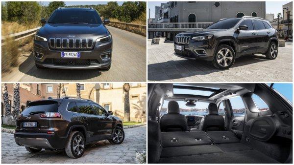 Новый внедорожник Jeep Cherokee 2019 выходит на российский рынок