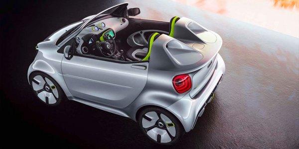 Smart рассекретил прототип нового электрического родстера