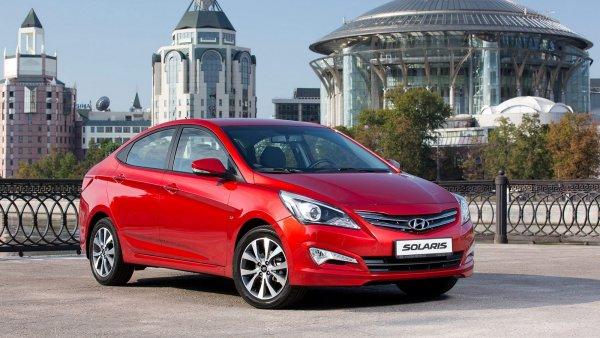 Hyundai Solaris в сентябре стал бестселлером на рынке Санкт-Петербурга