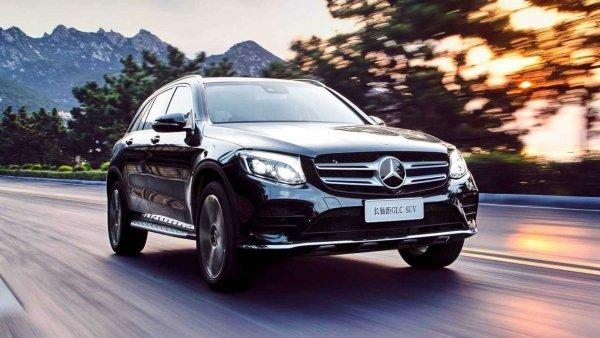 Удлиненный внедорожник Mercedes-Benz GLC-L появится в Китае