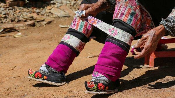 Учёные выяснили настоящую причину бинтования ног в Китае