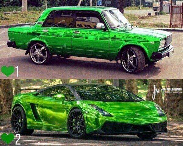 «Прокачанный ВАЗ радует глаз»: В сети «семёрку» оценили выше спорткара Lamborghini