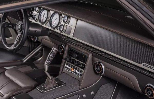 Представлен карбоновый Dodge Charger с двигателем от «Демона»