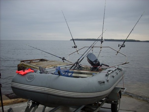 Лодки для рыбалки: полная экипировка