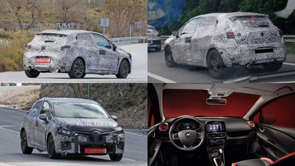 На тесты вывели новый хэтчбек Renault Clio