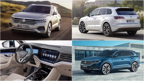 В России Volkswagen Touareg получит новый базовый двигатель