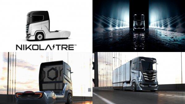 В Европу приедет водородный грузовик от Nicola