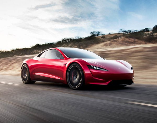 Tesla Roadster намерены сделать самым быстрым серийным спорткаром