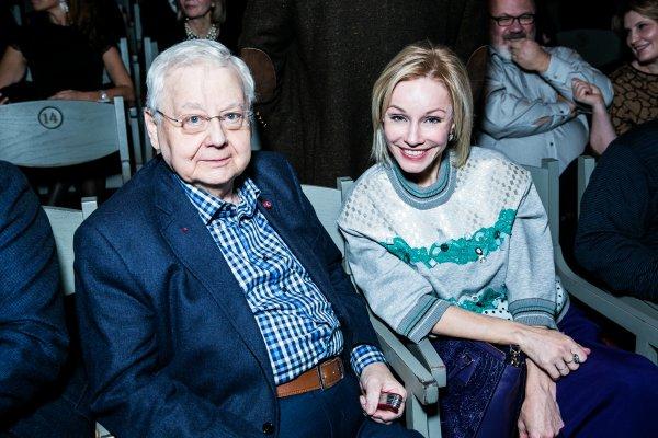 Вдова Табакова расплакалась на записи телешоу