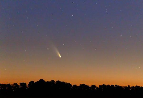 Астрономы зафиксировали вращение кометы Виртанена