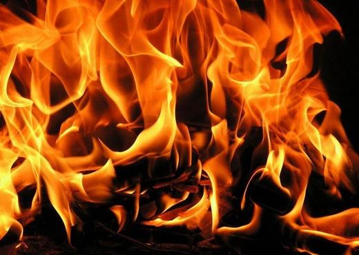 В результате страшного пожара погибли двое детей