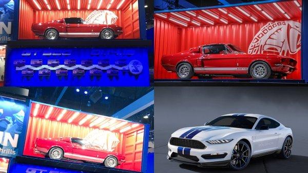 Ford Mustang Shelby GT500 представят в январе в Детройте