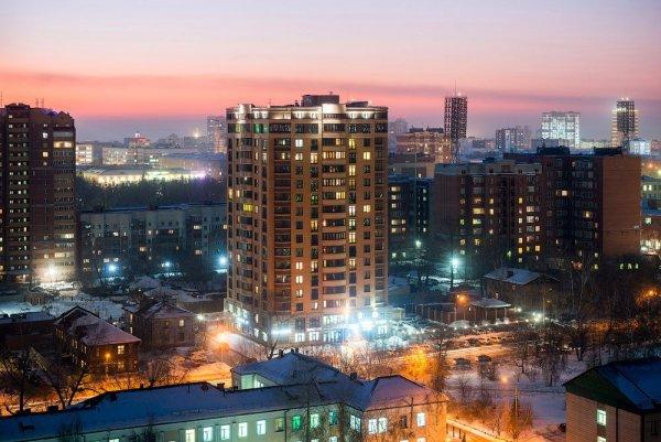 Новая архитектура Центрального района Новосибирска