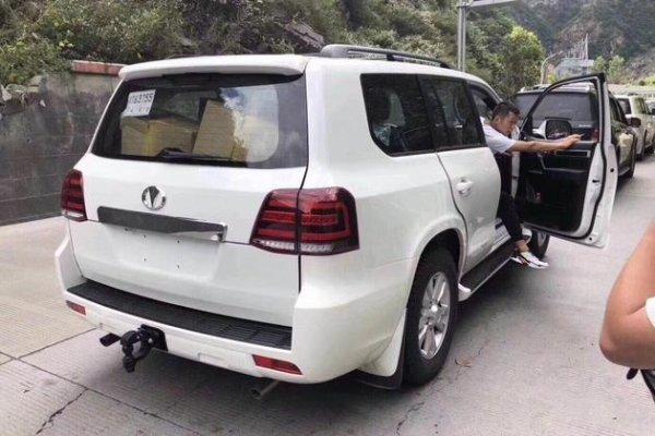 Ещё один «Крузак» из Поднебесной: Эксперт рассказал о «клоне» Toyota LC 200 – Hengtian L4600