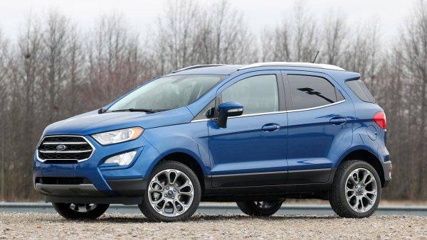 Вместо Creta и Duster: О новом кроссовере Ford Ecosport 2018 рассказал блогер
