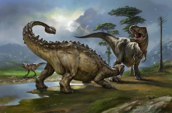 Ученые: Длинный нос спасал динозавров от жары