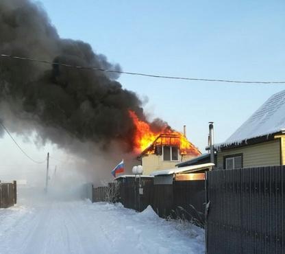 Перебой с электричеством в Липовом острове обернулся пожаром