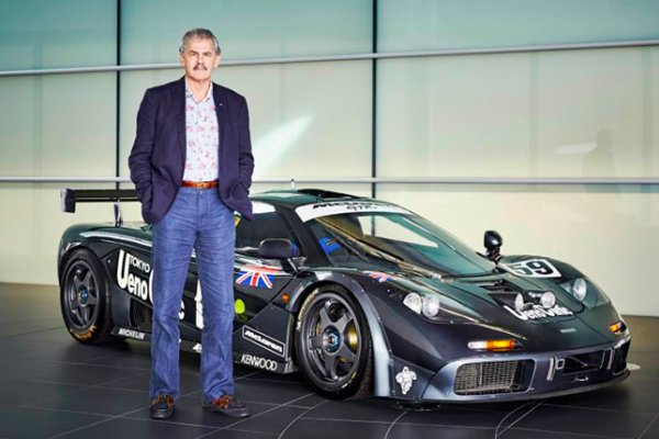 Инженера McLaren Гордона Марри наградят орденом Британской империи
