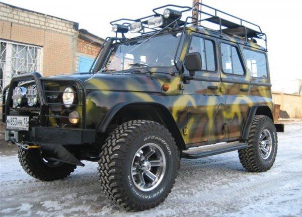Самые дерзкие «охотники»: ТОП-5 тюнингованных УАЗ «Хантер» показали в сети