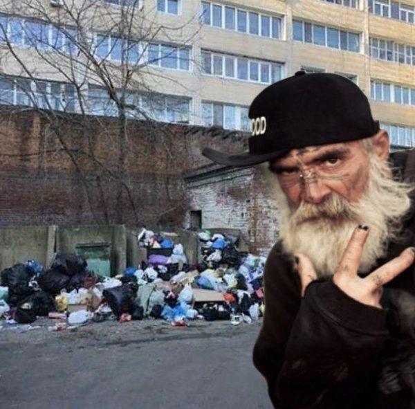 Бомжам на радость: Владивосток в Новый год утопает в тоннах мусора из-за Нибиру?