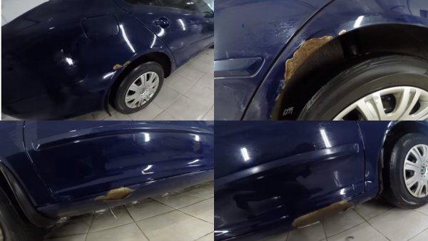 Как «гниёт» VAG: Состояние кузова 6-летней Skoda Octavia шокировало автомобилиста