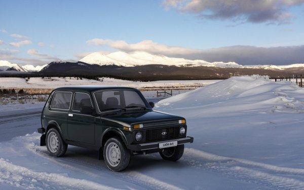 «Вне асфальта»: Турбо-«Нива» сразилась с Audi, BMW и Range Rover на заснеженном бездорожье