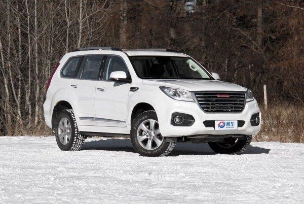 Что может китайский «Прадик»: На видео засняли зимние покатушки «клона» Toyota LC Prado – Haval H9