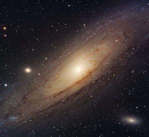 Телескоп «Хаббл» сделал фото Андромеды в высочайшем разрешении