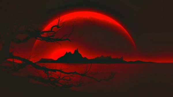 Жители России смогут наблюдать полное лунное затмение