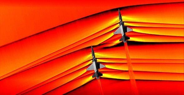 Ученые NASA показали на снимке сверхзвуковые ударные волны
