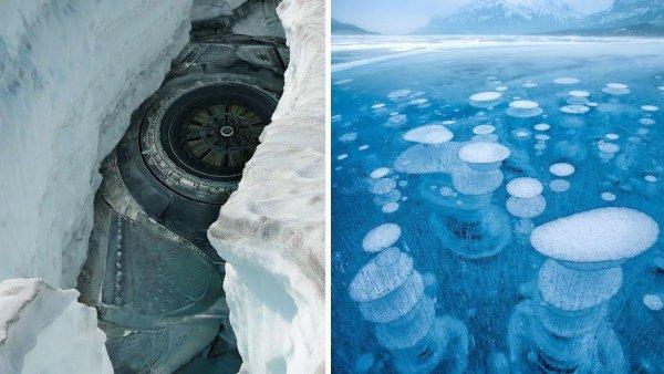 Уфолог из Урала обнаружил НЛО во льду Антарктиды